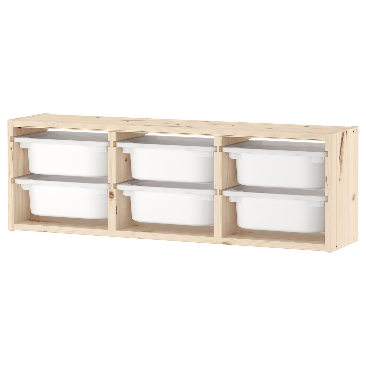 Ikea Trofast Wall Storage A Playful And Sy Series For Storing Organising Toys
