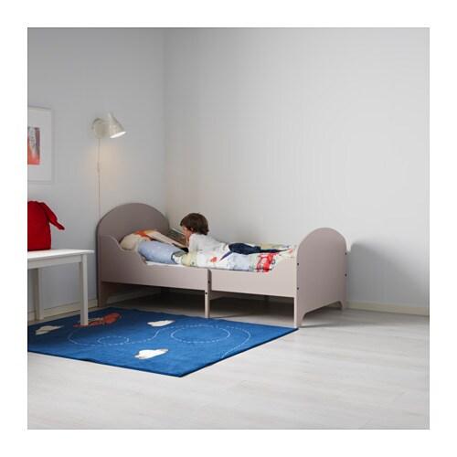ikea grey toddler bed
