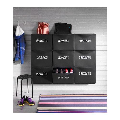 Trones shoe cabinet storage black 51x39 cm ikea - Meuble de scheiding ...