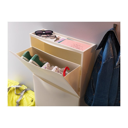 Trones shoe cabinet storage white 51x39 cm ikea for Ikea meuble a chaussures