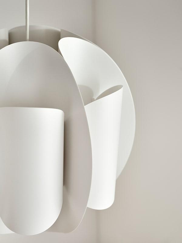 TRUBBNATE Pendant lamp shade, white, 38 cm