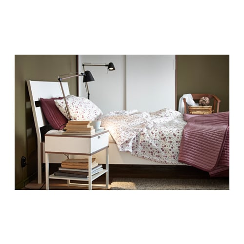 Ikea Schreibtisch Expedit Mit Regal ~ IKEA TRYSIL bed frame The angled headboard allows you to sit