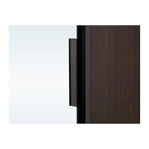 Ikea Trysil Wardrobe Problems ~ Wardrobe TRYSIL Dark brown mirror glass