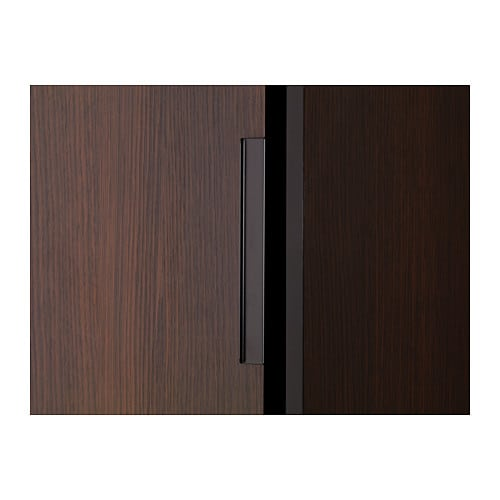 Ikea Trysil Wardrobe White Usa ~ TRYSIL Wardrobe w sliding doors 4 drawers Dark brown 118x61x202 cm