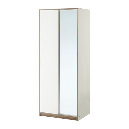 Free standing wardrobes ikea - Ikea armoire with mirror ...