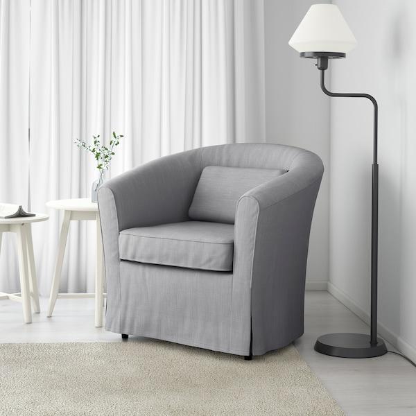 TULLSTA Armchair, Nordvalla medium grey
