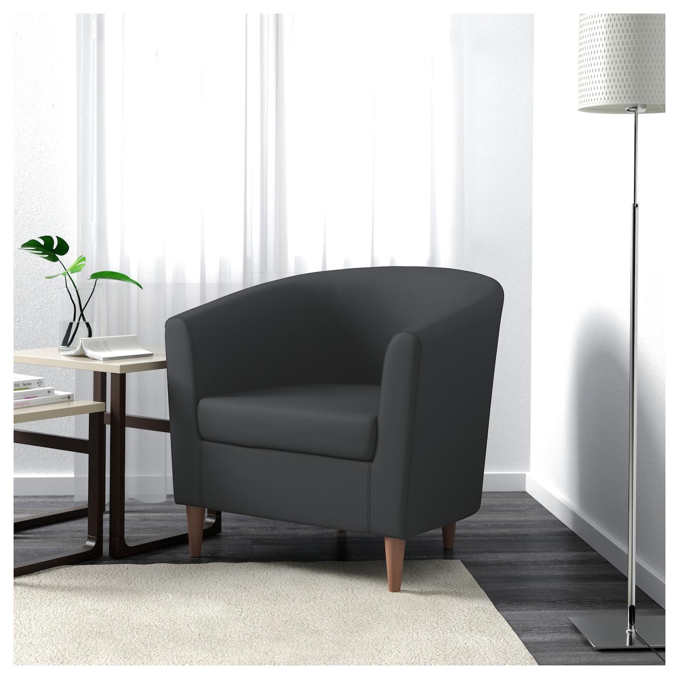 Tullsta Armchair Ransta Dark Grey Ikea