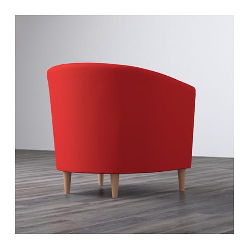 Tullsta armchair ransta red ikea for Ikea tullsta