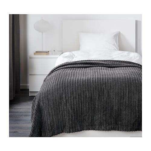TUSENSKÖNA Bedspread IKEA Easy to transport and store since the packaging also functions as a storage bag.