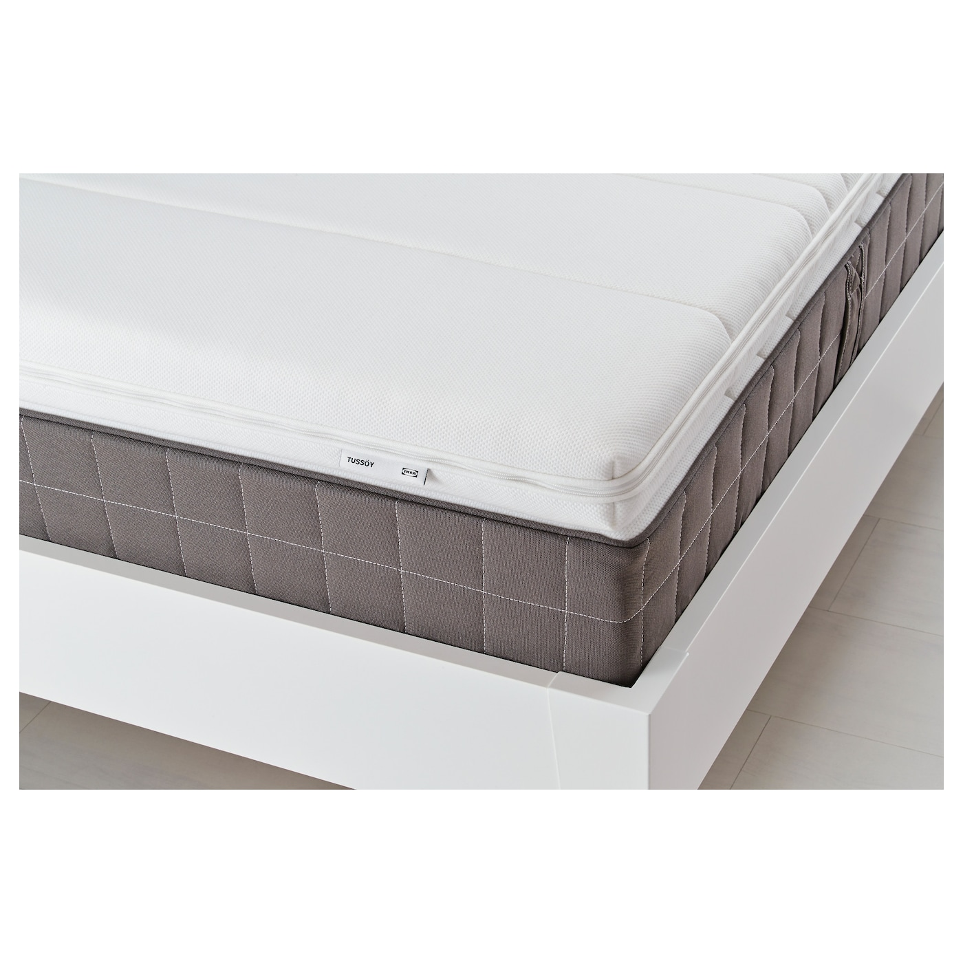 tuss y mattress topper white 140x200 cm ikea. Black Bedroom Furniture Sets. Home Design Ideas