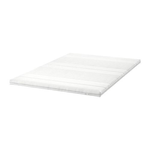 Ikea Sultan Timan Dekmatras.Tussoy Mattress Topper White Standard Double Ikea