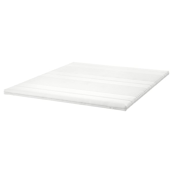 TUSSÖY Mattress topper, white, Standard King