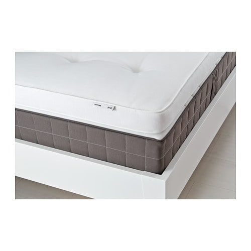 tustna mattress topper white standard double ikea