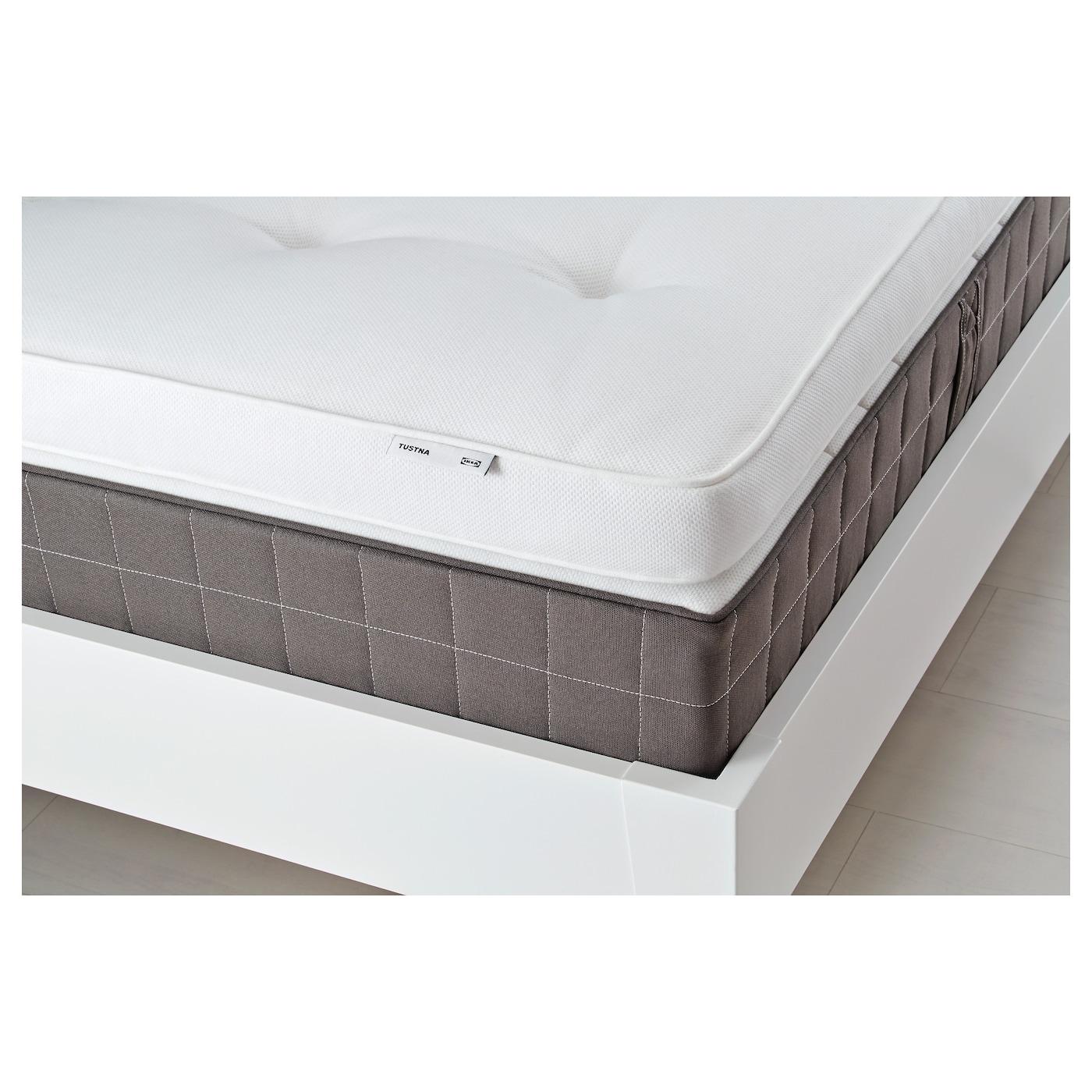TUSTNA Mattress topper White Standard Double IKEA