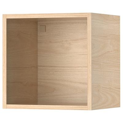 TUTEMO Open cabinet, ash, 40x37x40 cm