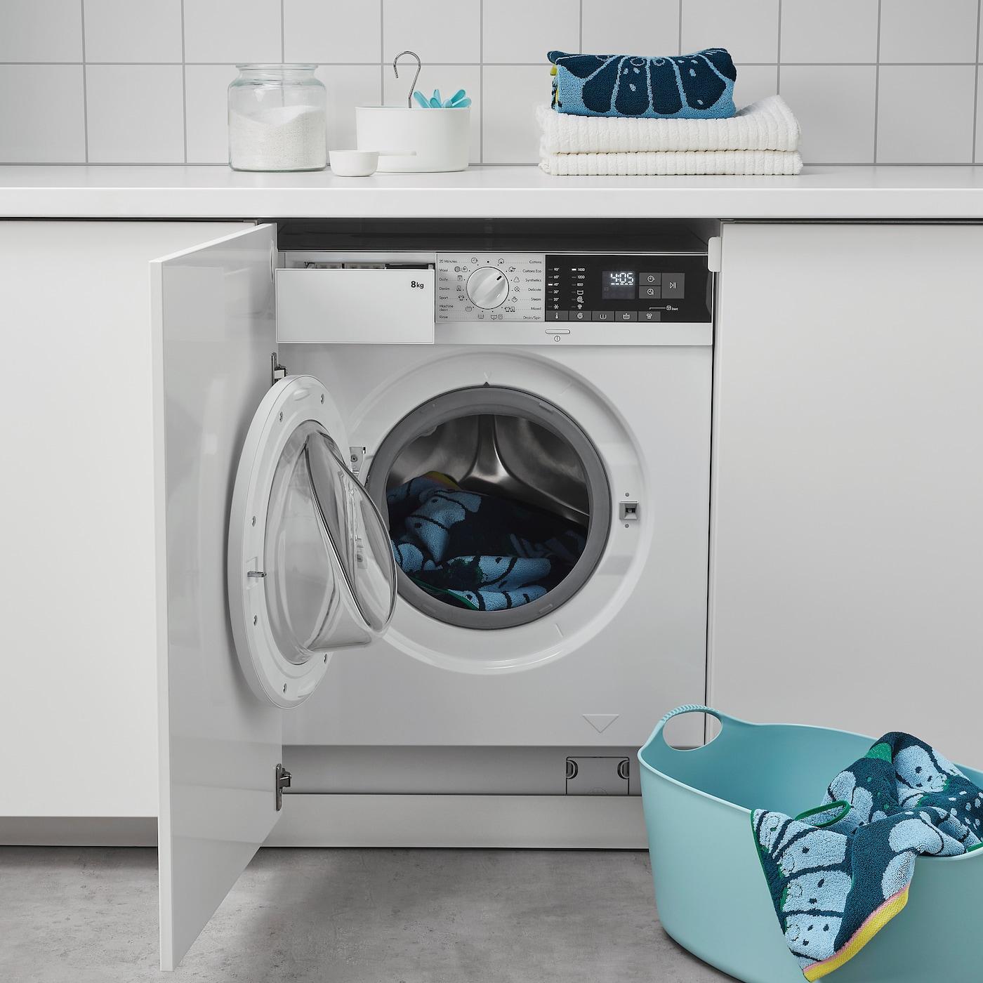 TVÄTTAD white, Integrated washing machine - IKEA