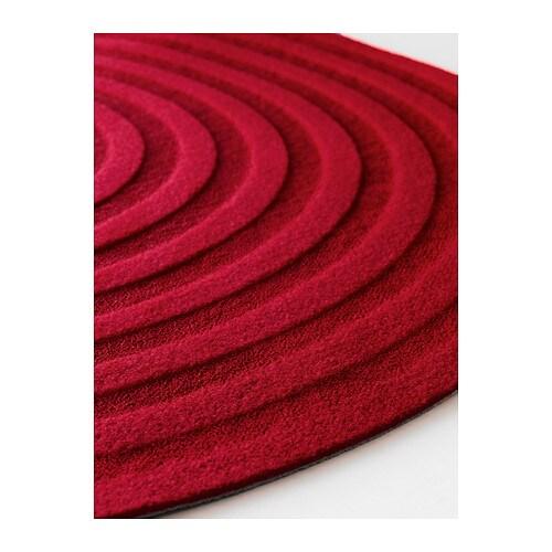 TVIS Mat Red 80 cm  IKEA