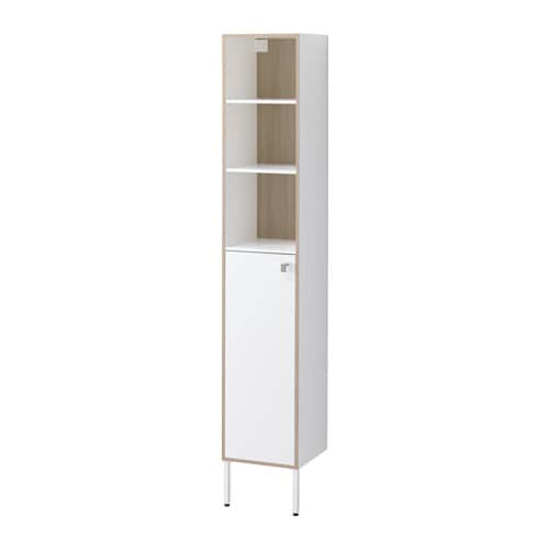 Ikea Tyngen High Cabinet Suitable For A Smaller Bathroom As The Cabinet Frame Is Just