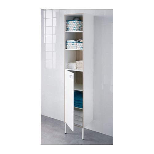 suitable for a smaller bathroom as the cabinet frame is just 30 cm