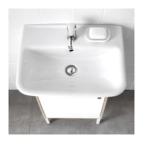 IKEA TYNGEN single wash-basin 10 year guarantee. Read about the terms in the guarantee brochure.