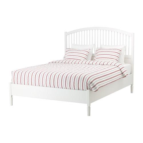 TYSSEDAL Bed frame Whitelnset Standard King IKEA