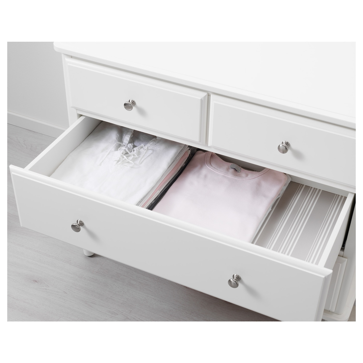 tyssedal chest of 4 drawers white 87x76 cm ikea