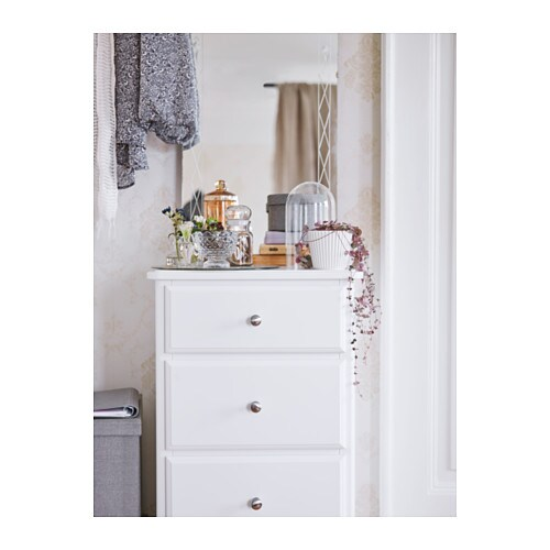 Tyssedal chest of 5 drawers white 47x118 cm ikea - Ikea schubladen organizer ...