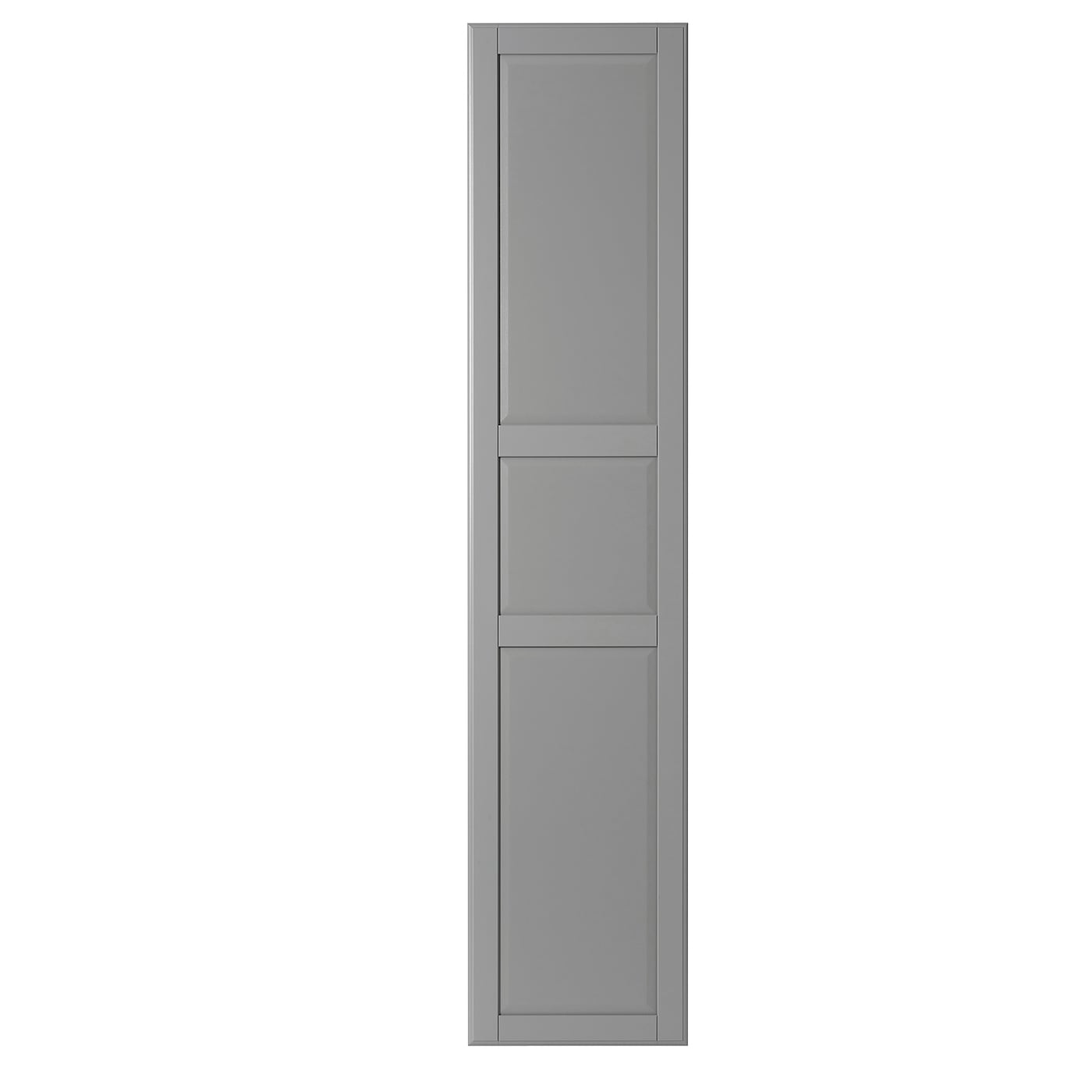 Door With Hinges Tyssedal Grey
