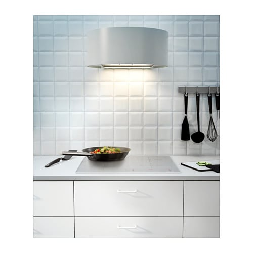 Ikea Weinregal Faktum Perfekt ~ IKEA UDDEN wall mounted extractor hood Control panel placed at front