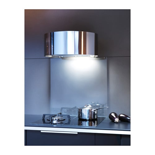 udden wall mounted extractor hood stainless steel ikea. Black Bedroom Furniture Sets. Home Design Ideas