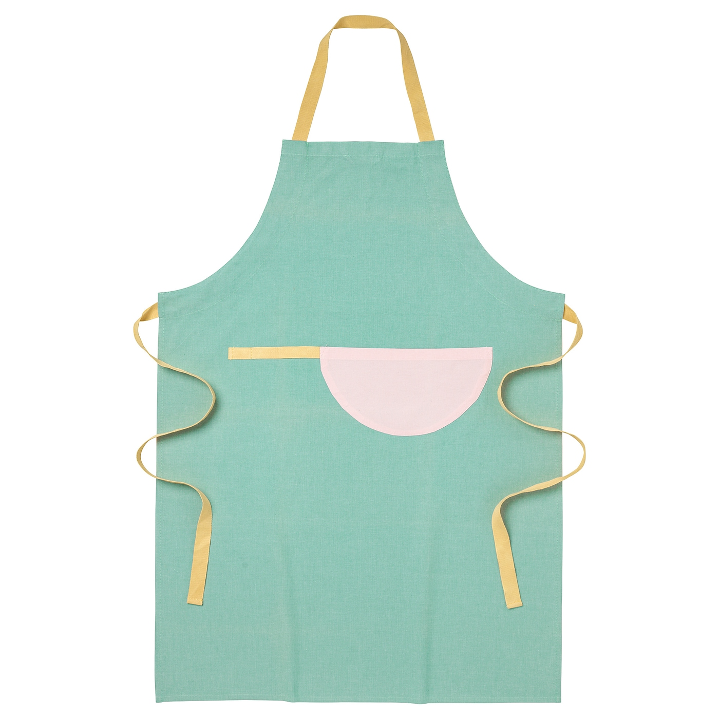 IKEA UDDIG apron With practical pocket for storing small items.