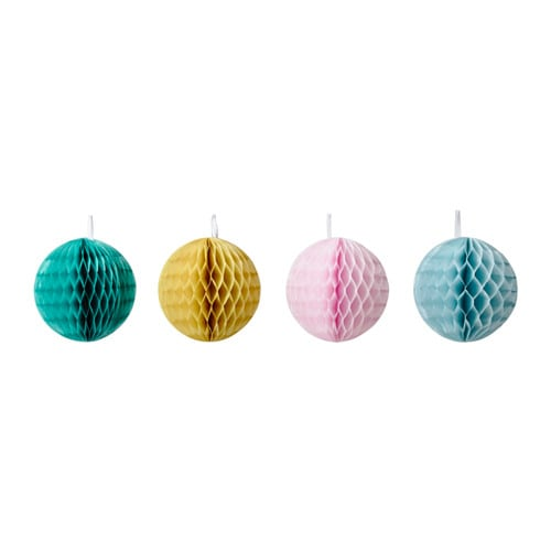 IKEA UDDIG hanging decoration Perfect for hanging at festive occasions to set that extra party mood.