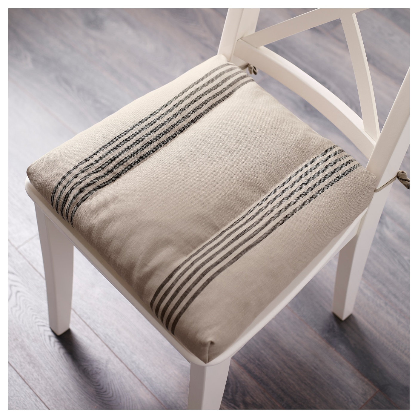 ullamaj chair cushion beige black 35 43 x 37 x 7 cm ikea. Black Bedroom Furniture Sets. Home Design Ideas