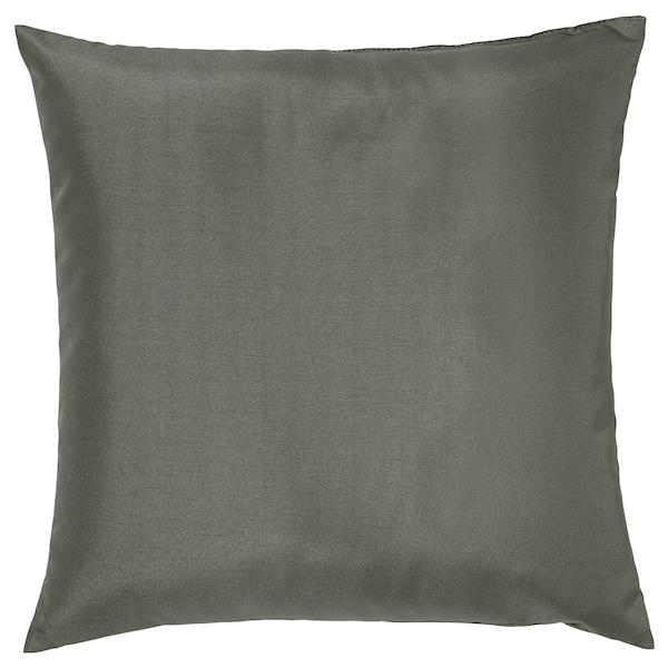 ULLKAKTUS Cushion, grey, 50x50 cm