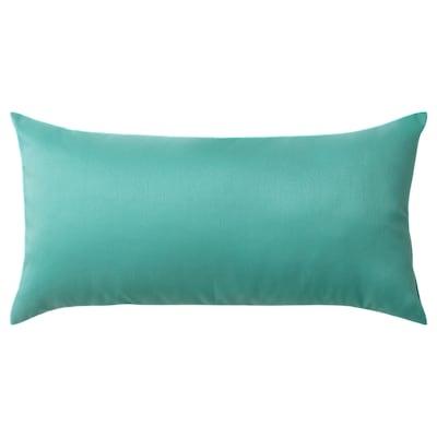 ULLKAKTUS cushion turquoise 30 cm 58 cm 250 g 300 g