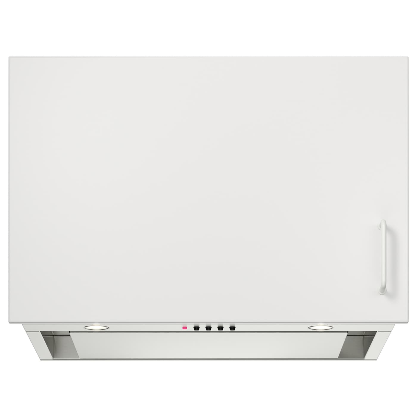 IKEA UNDERVERK Built In Extractor Hood Easy To Install In A Wall Cabinet.