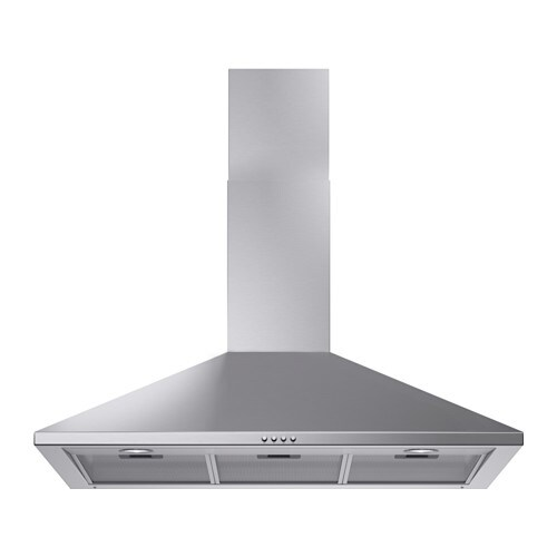 uppdrag wall mounted extractor hood stainless steel 90 cm ikea. Black Bedroom Furniture Sets. Home Design Ideas