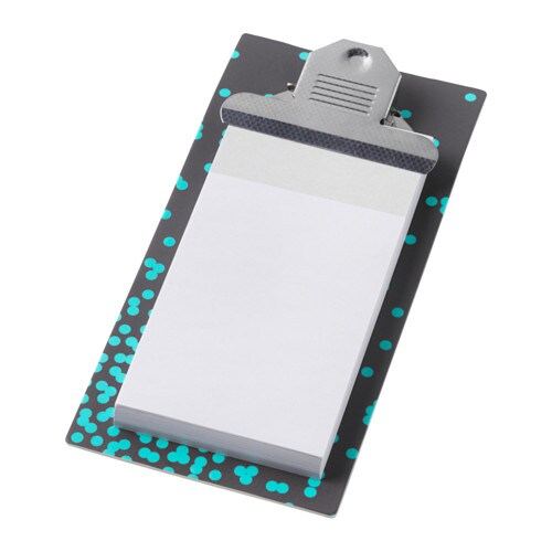 IKEA UPPFATTA clipboard with notepad