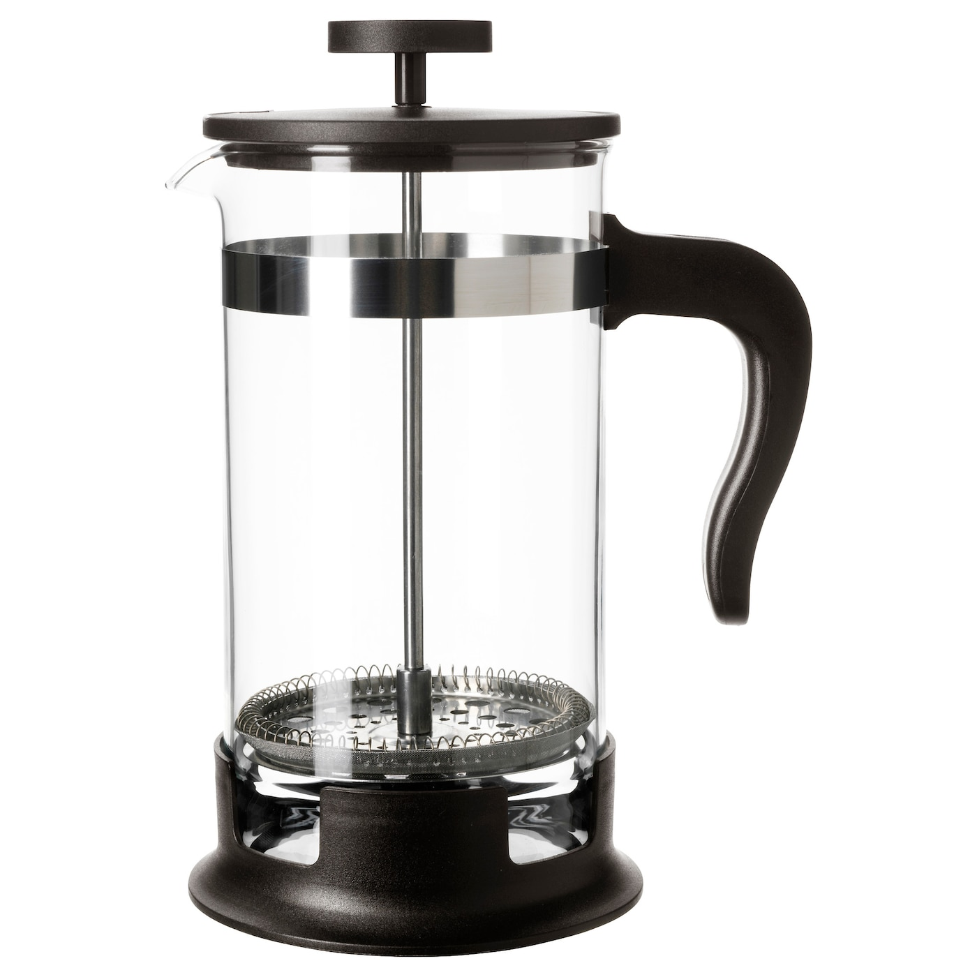 glass coffee maker upphetta coffee tea maker glass stainless steel 1 l ikea 29294
