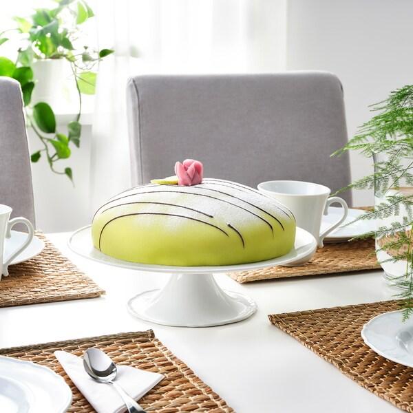 UPPLAGA Cake stand, white, 29 cm