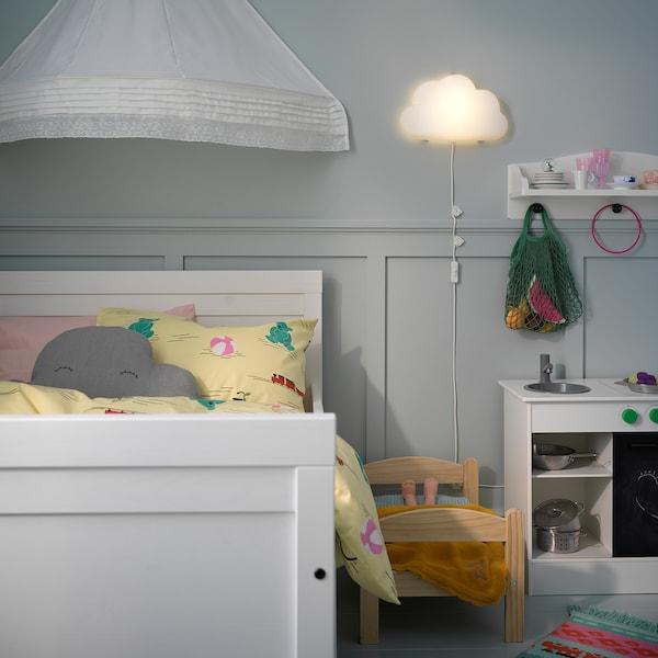 UPPLYST LED wall lamp, cloud white