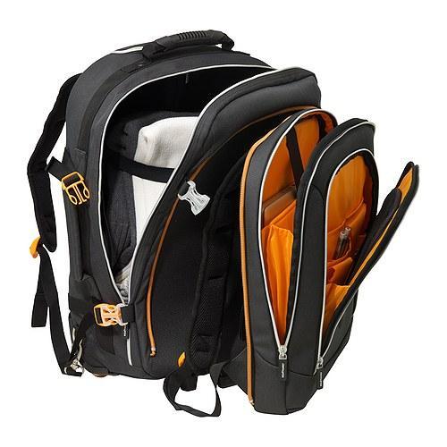 uppt cka backpack on wheels dark grey ikea. Black Bedroom Furniture Sets. Home Design Ideas