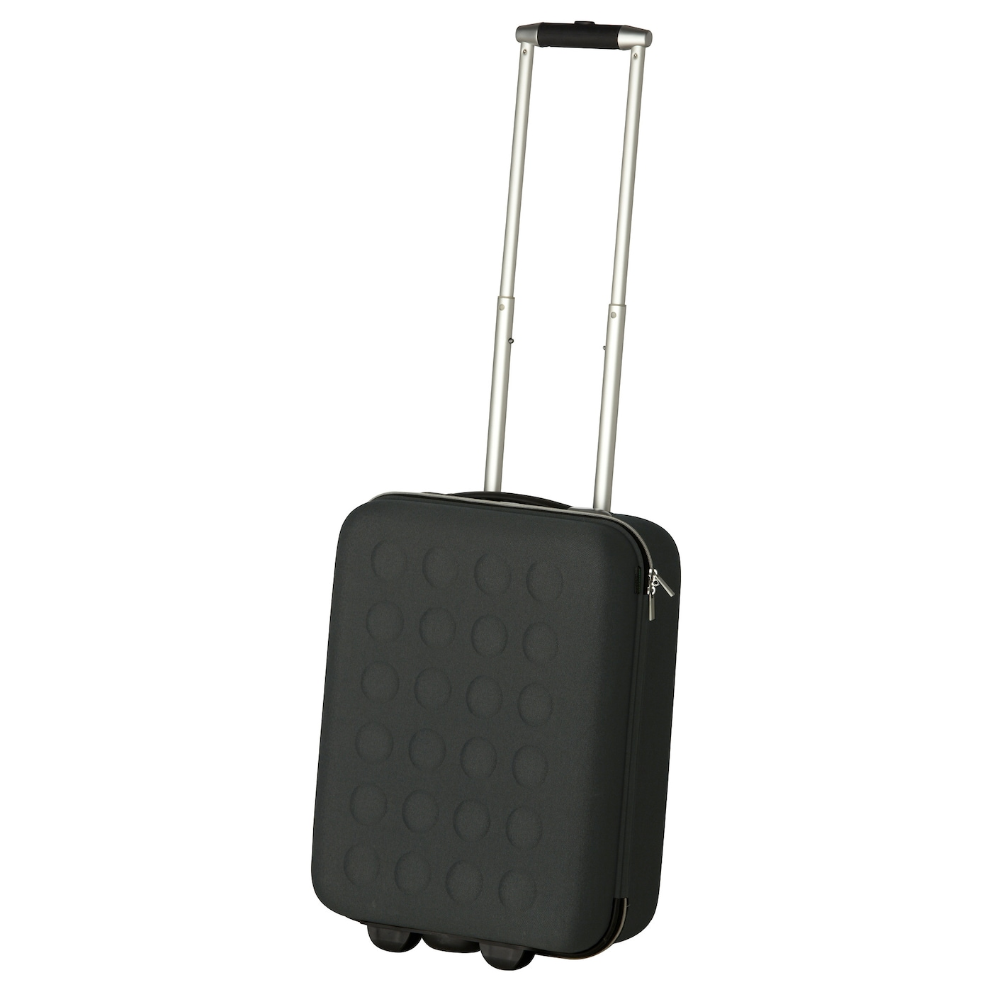 IKEA UPPTÄCKA cabin bag on wheels The cabin bag rolls easily because it has smooth-running wheels.