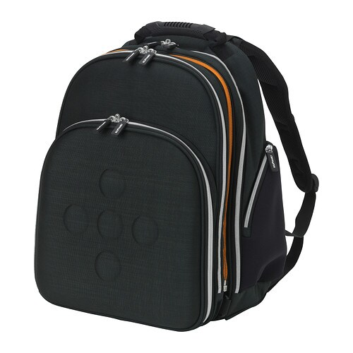 UPPTÄCKA 2-piece backpack IKEA This backpack easily converts into 2 smaller backpacks.