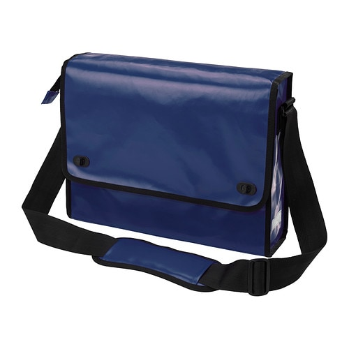 "UPPTÃ""CKA Messenger bag IKEA The bag withstands both rain and dirt and ..."