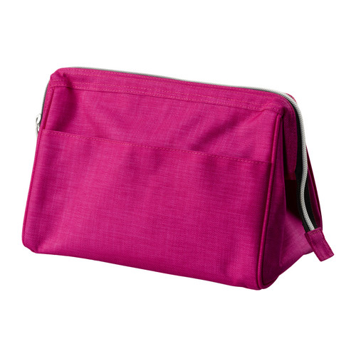 UPPTÄCKA Toilet bag IKEA You can find what you need quickly and easily since the toilet bag opens wide and stays open.