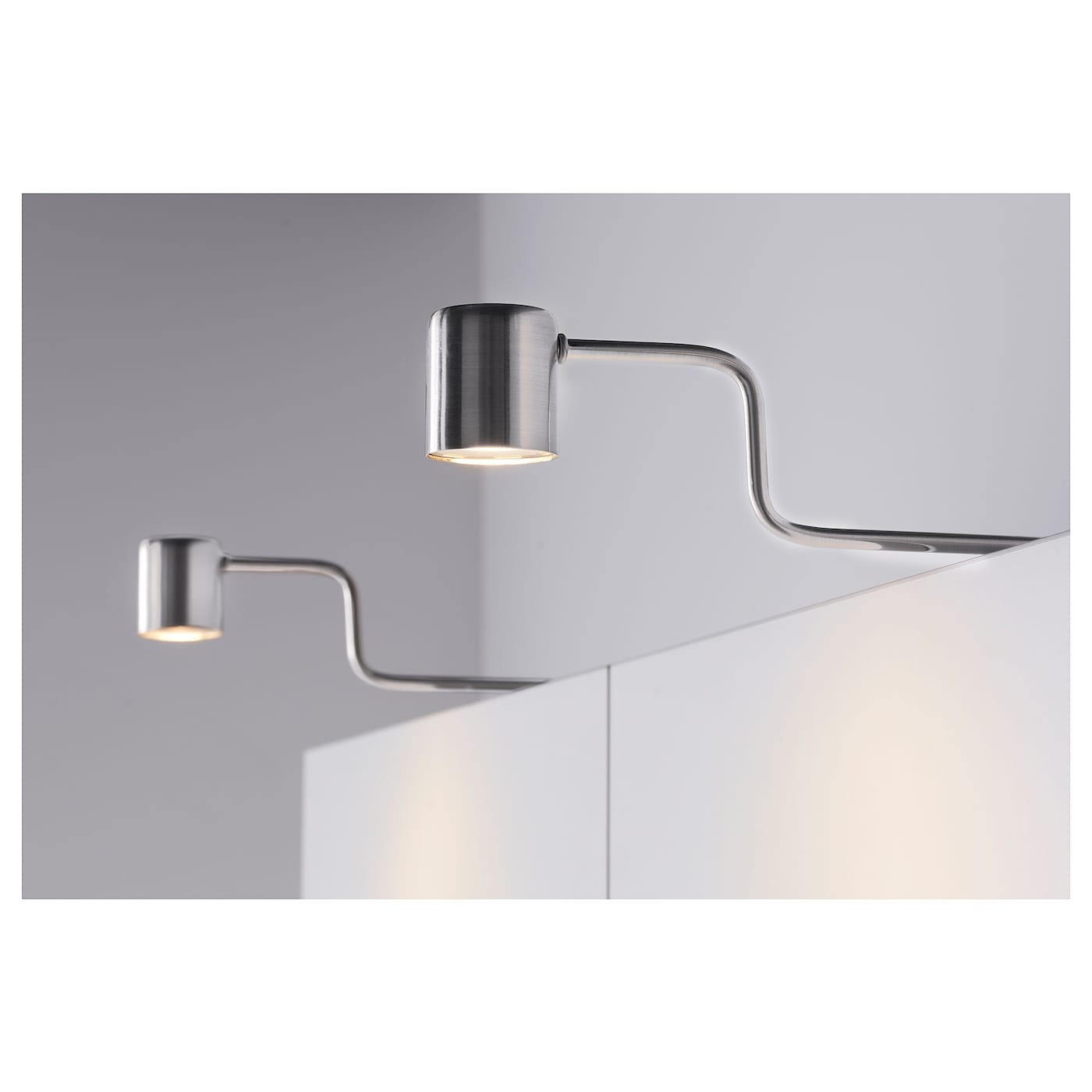 Ikea Kitchen Cabinet Lighting: URSHULT LED Cabinet Lighting Nickel-plated