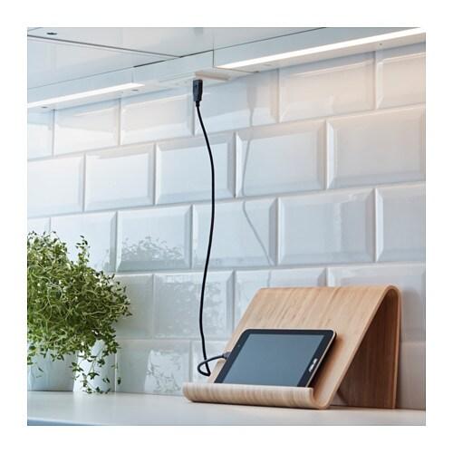 Utrusta 1 way socket with usb port white ikea - Ikea schrankwand weiay ...