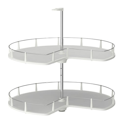 UTRUSTA Corner base cabinet carousel IKEA 25 year guarantee.   Read about the terms in the guarantee brochure.