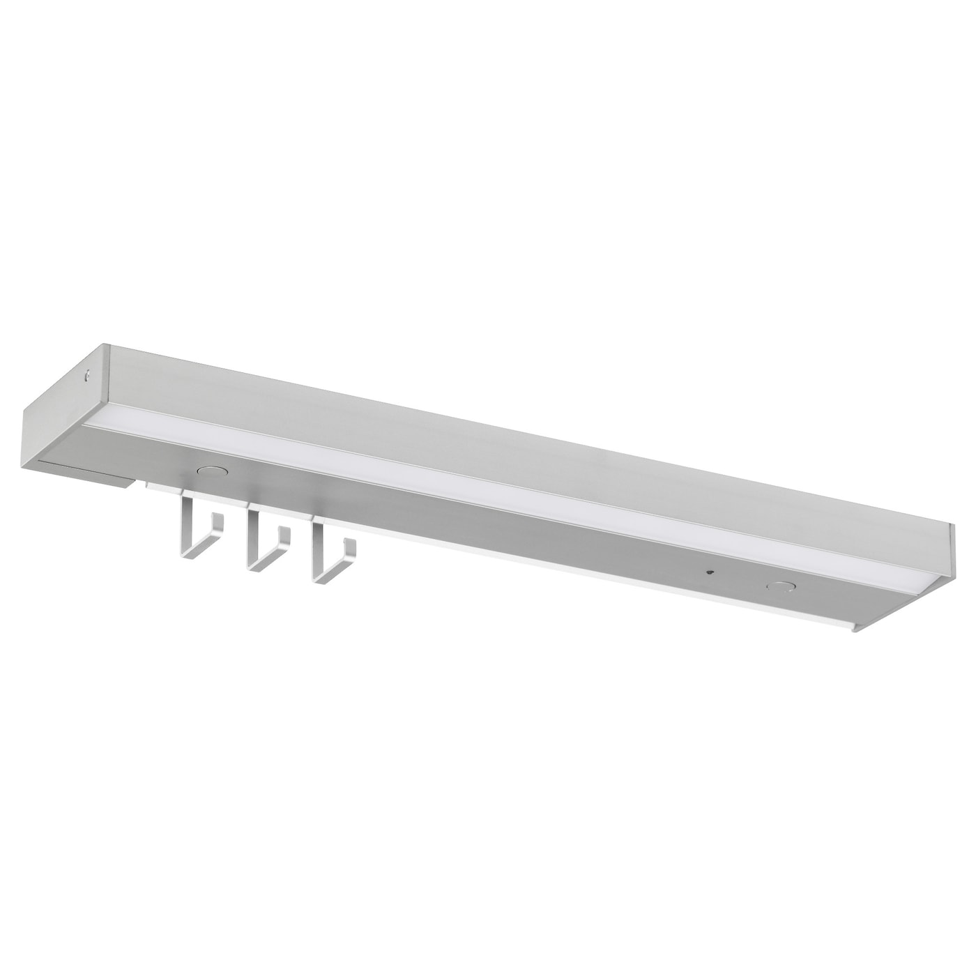 UTRUSTA LED worktop lighting w power supply Aluminium colour 40 cm  IKEA